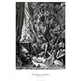 Gustave Dore Don Quixote In His Library Poster Art Print