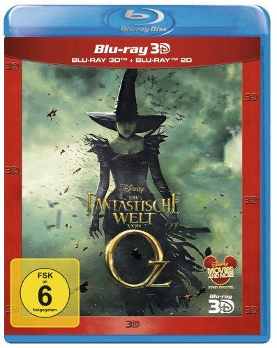 Die fantastische Welt von Oz [Blu-ray 3D + 2D]