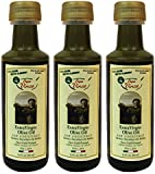 Family Made 100% Olive Oil | Extra Virgin, First Cold Pressed, Single Source From Sicily, Italy, No After Taste, Fruity, Raw, Unfiltered, Unrefined, 3.0 Fl Oz Pack of 3 - Papa Vince