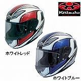 OGKカブト/AEROBLADE-3 MAVERICK/エアロブレード3 マーヴェリック/フルフェイスヘルメット サイズ:L(59-60) カラー:ホワイトブルー
