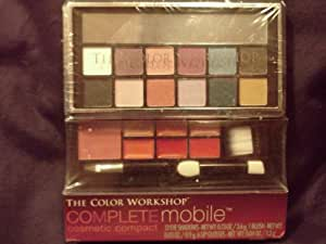 The color workshsop complete mobile cosmetic compact