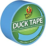 Duck Brand 1311000 Color Duct Tape, Electric Blue, 1.88-Inch by 20 Yards, Single Roll