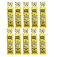 10 x Bunnycomb Bars Moo Free - Mini Moo Honeycomb Organic Dairy Free Chocolate 25g