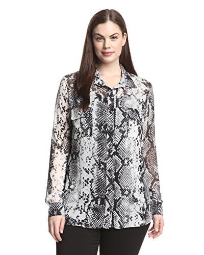Single Plus Women's Button-Up Top