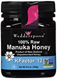 Wedderspoon Raw Manuka Honey KFactor 12, 8.8-Ounce Jar
