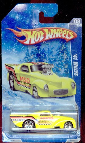 Hot Wheels 2010-106/240 HW Performance 08/10 Snow Scene Card '41 Willys 1:64 Scale - 1