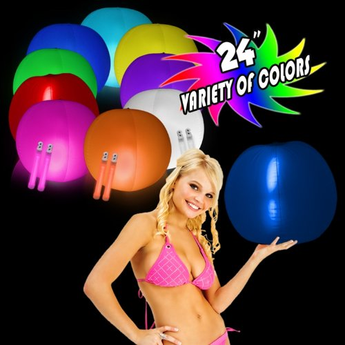 "Glow in the Dark Beach Ball 24"" , 1 Each - 1"