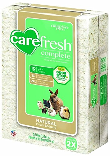 carefresh Complete Natural Paper Bedding for Small Animals, 50 L 51KLMl2i9CL