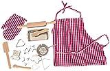 Woodyland Juego de imaginación para hornear Set con los accesorios de la cocina (17 piezas)