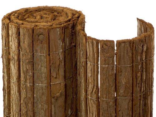 rindenmatte country 1 5x3m sichtschutz zaunblende naturmatte. Black Bedroom Furniture Sets. Home Design Ideas
