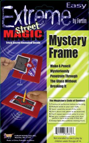 Forum Novelties Extreme Street Magic - Mystery Frame