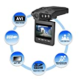 "1280P HD 2.5"" LCD NIGHT VISION CCTV IN-CAR DVR ACCIDENT VIDEO PROOF CAMERA Video Recorder"