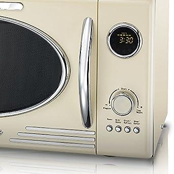 melissa 16330089 classico mikrowelle creme db705. Black Bedroom Furniture Sets. Home Design Ideas