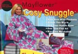 Mayflower Snuggle Checkers Pink Fleece Blanket with pockets- by Premierdropshop
