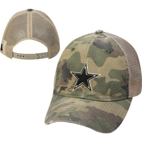Amazon.com : Dallas Cowboys Camouflage Mesh Slouch Hat : Sports Fan