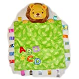 Taggies - Peek a Boo Lion - Baby Security Blanket