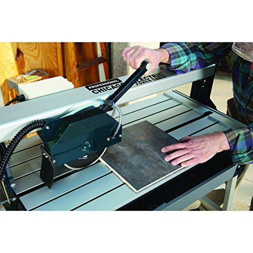 1.5 Horsepower 7 In. Bridge Tile Saw With Stand