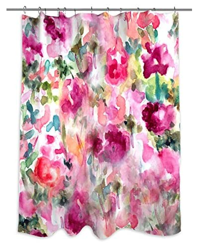 Oliver Gal In Wonderland Shower Curtain