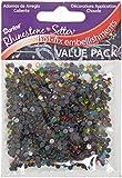Darice 1000-Piece Hot Fix Glass Stones, 3mm, Multi Color