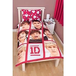 One Direction Single Duvet Set