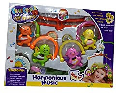 Shop & Shoppee Sweet Cuddle Musical Cot Early Development Toys