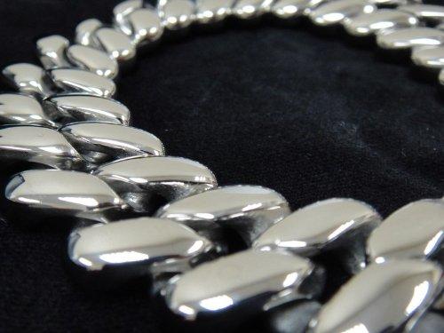 Men's 316L Stainless Rolo Chain HEAVY Metal Bracelet for Harley Motor Biker TB79