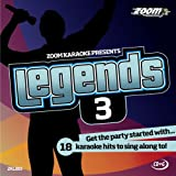 Zoom Karaoke CD+G - Legends Volume 3 - Elton John/Billy Joel/Rod Stewart/Barry Manilow [Card Wallet] Zoom Karaoke