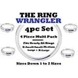 The Ring Wrangler Multi Pack Ring Guard Ring Resizers-(4 Pack of Sizes)