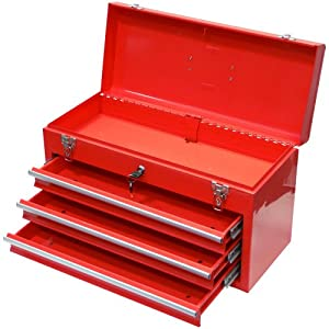 famex 851 l bo te outils 3 tiroirs vendue vide import. Black Bedroom Furniture Sets. Home Design Ideas