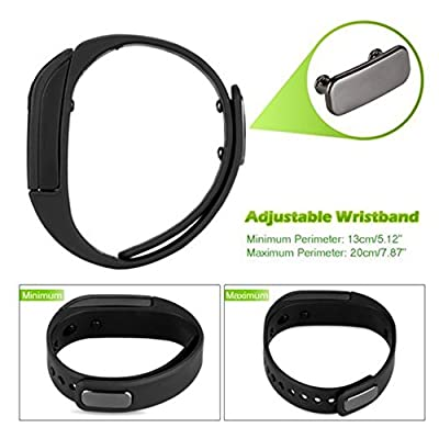 Fitness Tracker , 007plus® Bluetooth Activity tracker T5 Smart Bracelet Wearable Smart Wristbands with Pedometer Sleep Tracker for IOS Android Phones