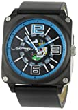 Christian Audigier Watches:Ed Hardy Men's SK-BL Slick Blue Watch
