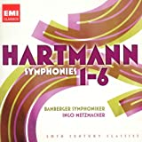 echange, troc  - Hartmann : Symphonies n° 1 à n° 6