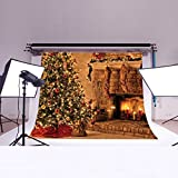 LB 7x5ft Christmas Poly Fabric Photo Backdrops Customized Studio Background Studio Props SD324
