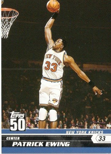 2007-08 (2008) Topps 50th Anniversary Limited Edition # 47 Patrick Ewing / New York Knicks - NBA Basketball Trading Cards