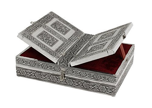 Book Stand Regal Decorative Foldable Holy Holder with Keepsake Box