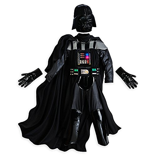 Disney Deluxe Light Up Darth Vader Costume for Boys Star Wars Size XL 11 - 12