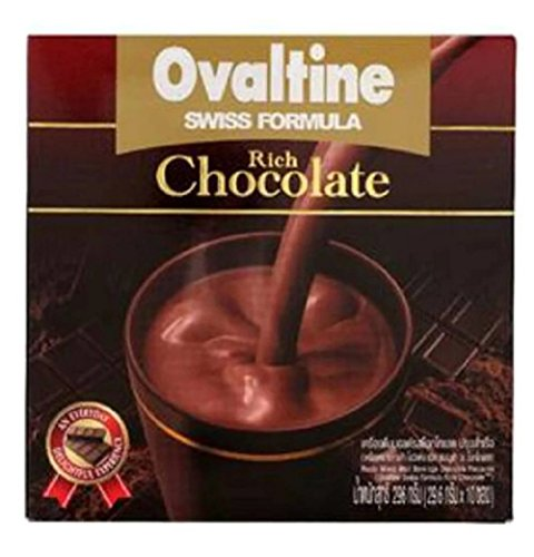 OVALTINE SWISS RICH READY MIXED MALT BEVERAGE CHOCOLATE FLAVOUR (Krups Coffee Grinder Red compare prices)