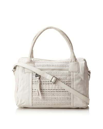 Marc New York Women's Sophie Embellished Leather Satchel  - White