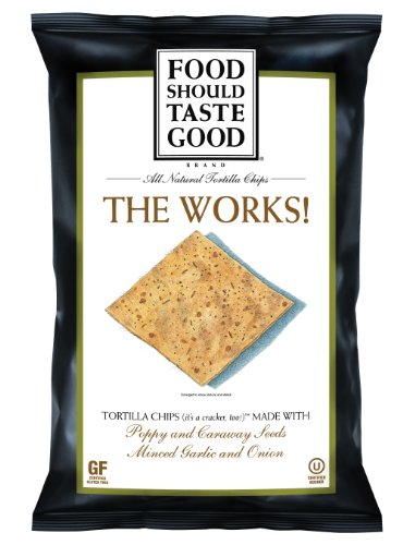 Food Should Taste Good Chips, The Works, 5.5 Ounce (Pack of 12)