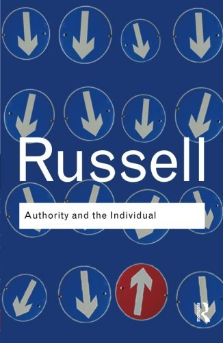 Authority and the Individual (Routledge Classics) (Volume 3) (Bertrand Russell Power compare prices)