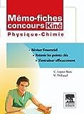 echange, troc Christine Lopez-Rios, Vincent Thibaud - Mémo fiches concours Kiné physique-chimie