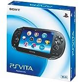 PlayStation Vita (プレイステーション ヴィータ) Wi‐Fiモデル クリスタル・ブラック (PCH-1000 ZA01)