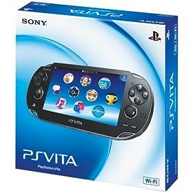 PlayStation Vita (�v���C�X�e�[�V���� ���B�[�^) Wi�]Fi���f�� �N���X�^���E�u���b�N (PCH-1000 ZA01)