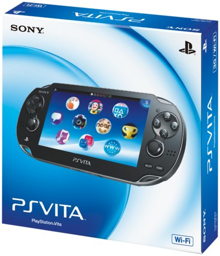 PlayStation Vita (PlayStation vita) Wi-Fi model Crystal Black (PCH-1000 ZA01)japan import