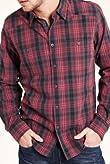 North Coast Pure Cotton Tonal Checked Shirt [T25-5956N-S]