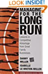Managing For The Long Run: Lessons In...