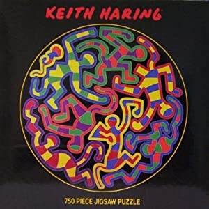 Keith Haring Monkey Puzzle, 1988 ~ 750 Piece Jigsaw Puzzle
