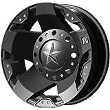 "XD-Series 775 Rockstar Dually Matte Black Rear Wheel (17x6""/8x6.5"")"
