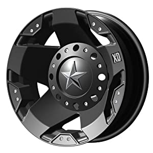 "XD-Series 775 Rockstar Dually Matte Black Rear Wheel (16x6""/8x6.5"")"