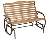 Jack Post CG-44Z Country Garden Double Glider, Bronze